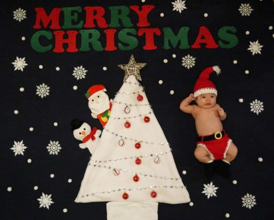 【浜松発】おひるねアート撮影会開催 テーマ:クリスマス♪